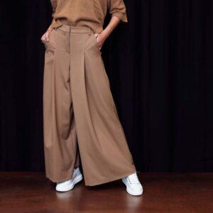 CidiCri - Alysi - Pantalone Gabardina ampio