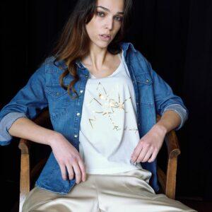 CidiCri - Camicia Jeans - Caos