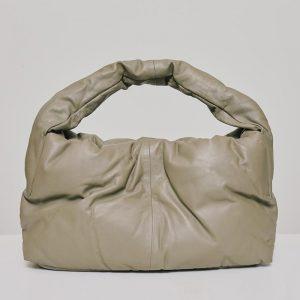 CidiCri - Borsa Real Leather ghiaia - Alysi