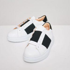 CidiCri - Scarpe - Sneakers - White Black - Chiarini